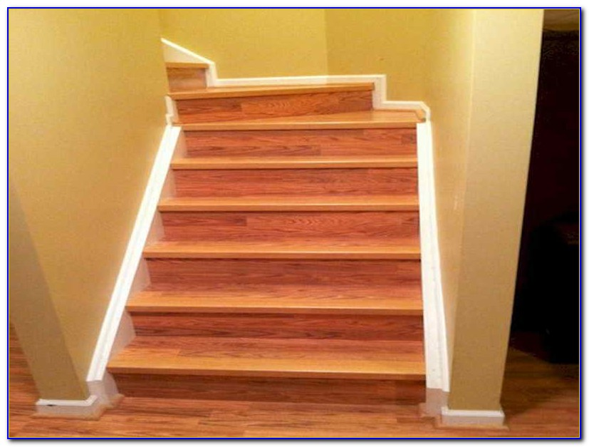 Installing Laminate Floor On Stairs