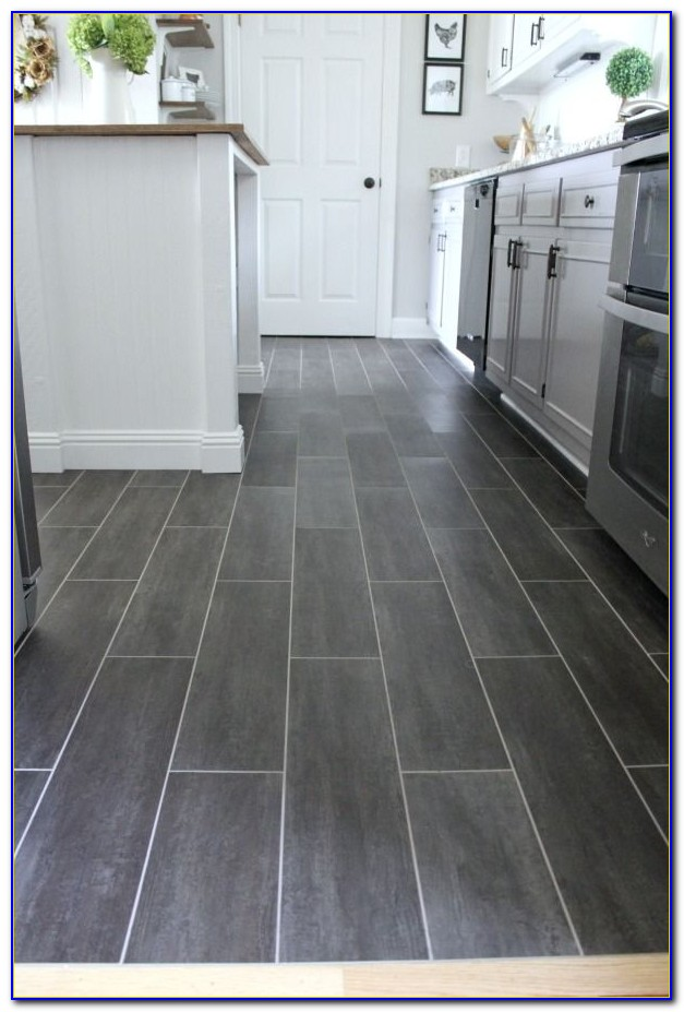 Installing Vinyl Floor Tiles With Grout