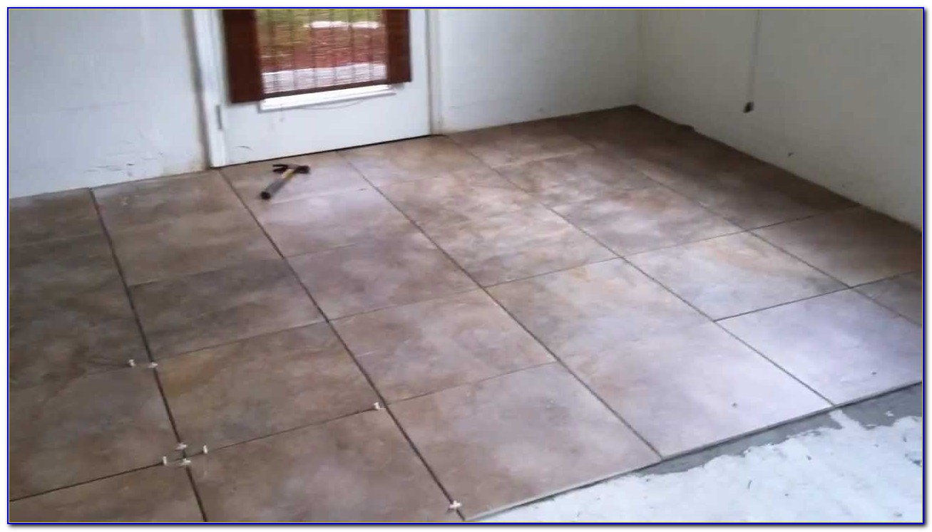 Is Porcelain Tile Good For Garage Floor