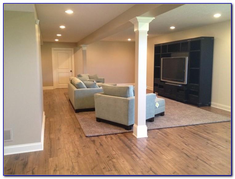 Laminate Flooring In The Basement