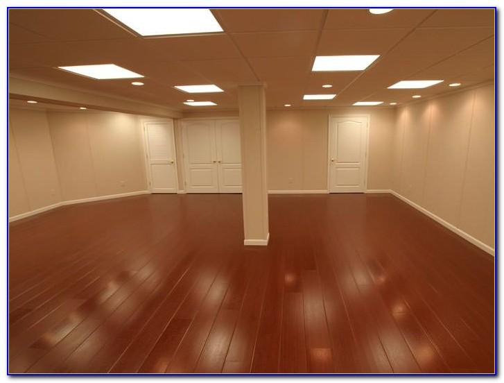 Laminate Wood Flooring In The Basement