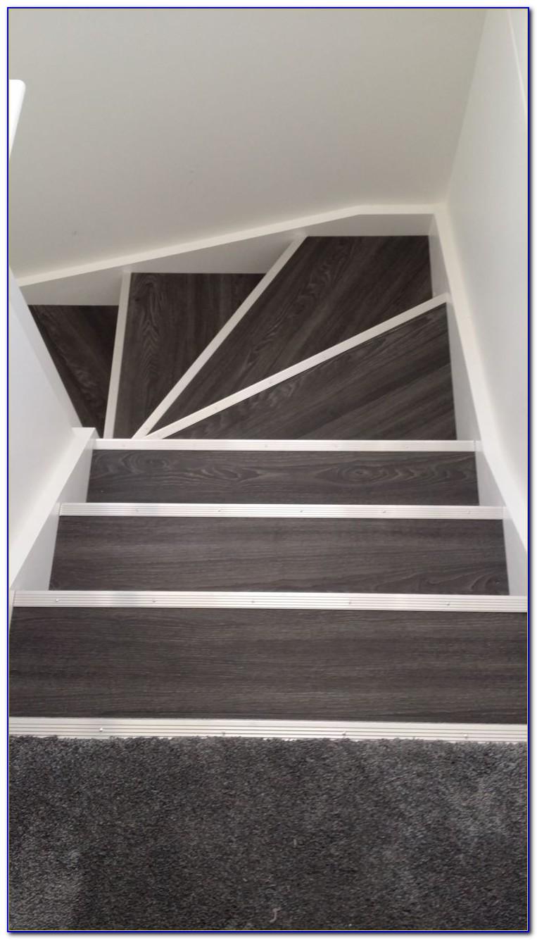 Laying Vinyl Plank Flooring On Stairs