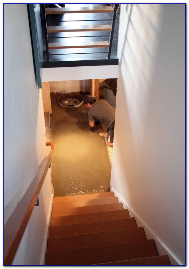 Leveling Out A Basement Floor