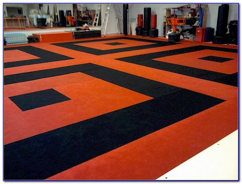Martial Arts Padded Floor Mats