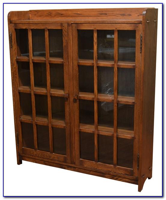 Mission Oak Bookshelves