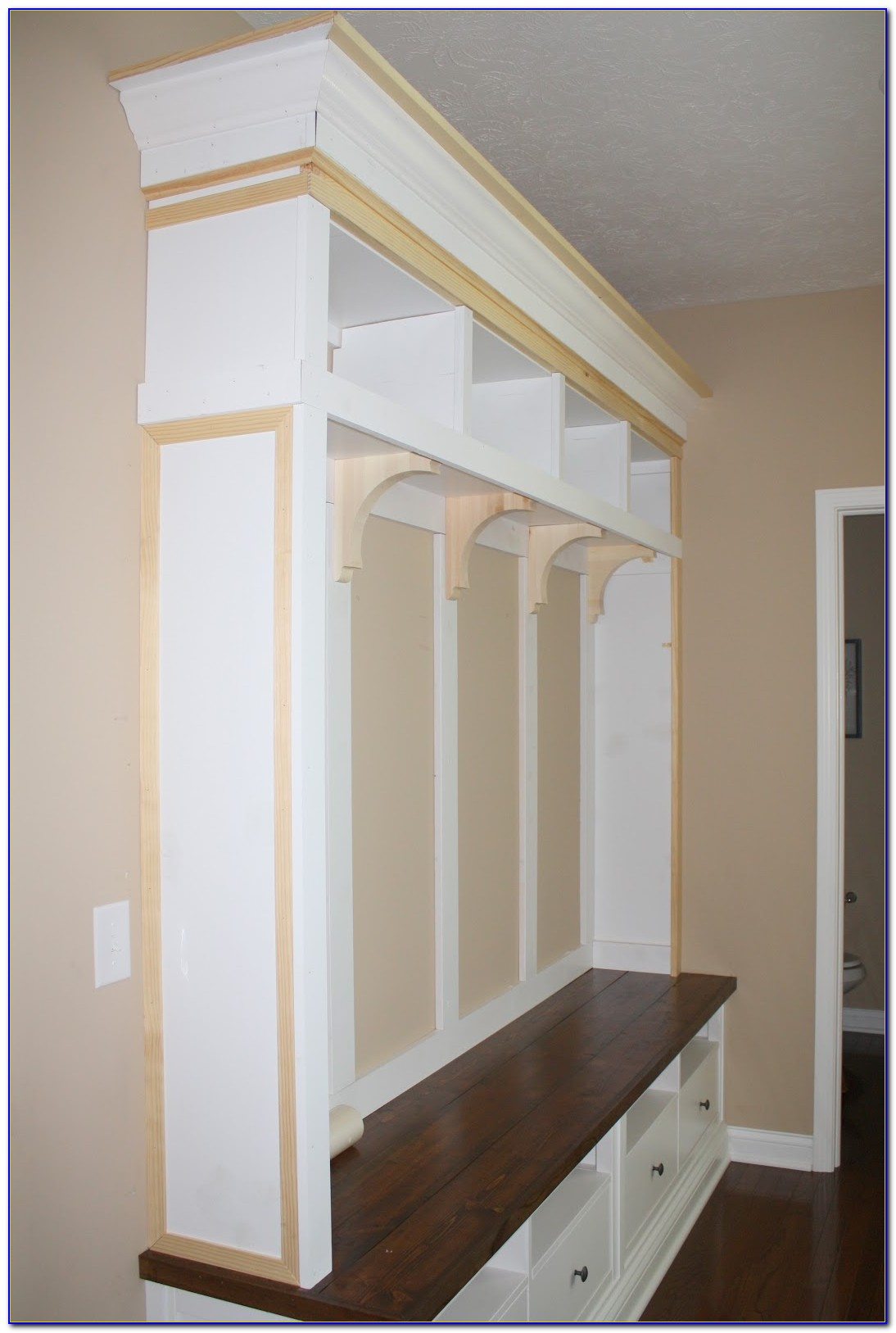 Mudroom Bench With Storage Diy