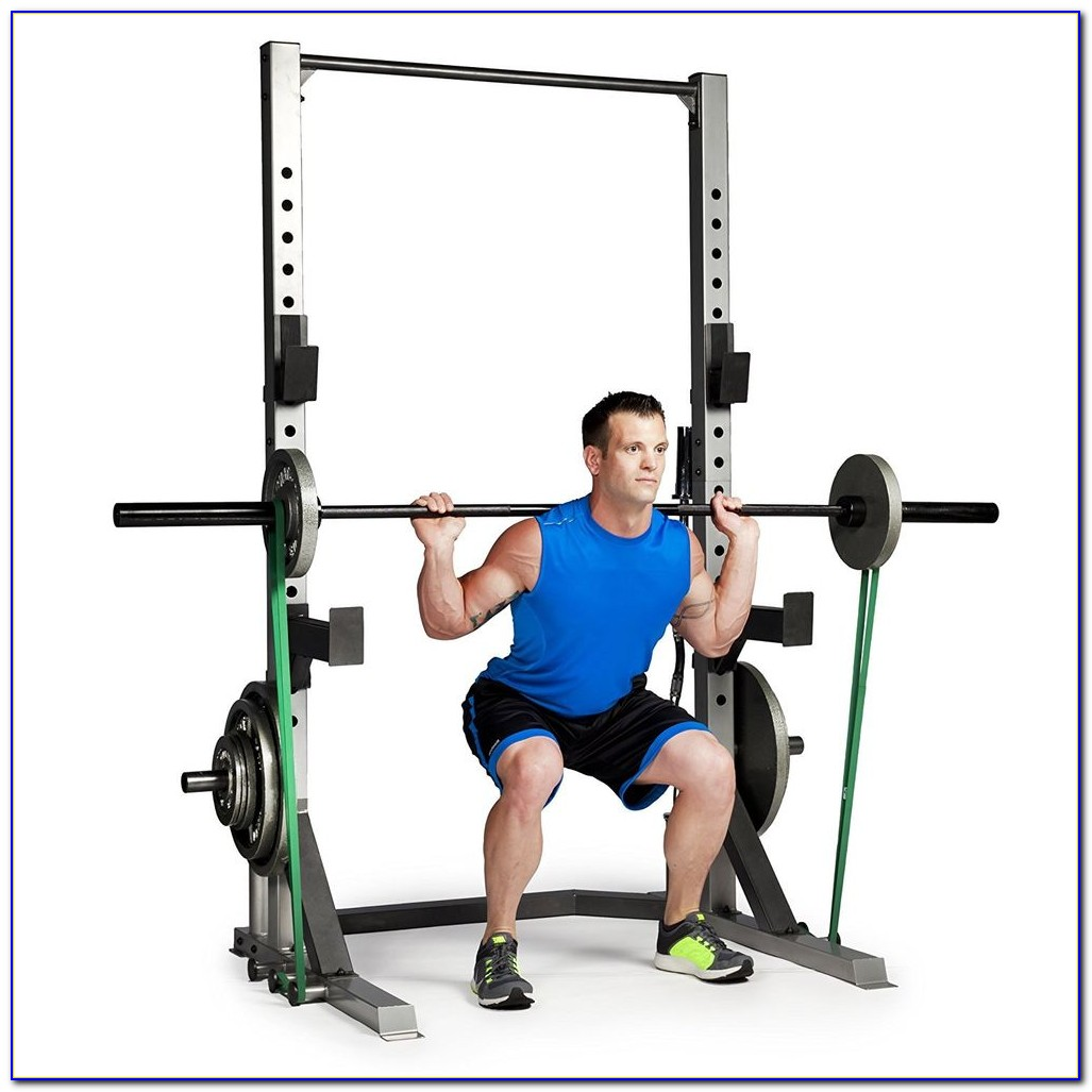 Olympic Squat And Bench Rack
