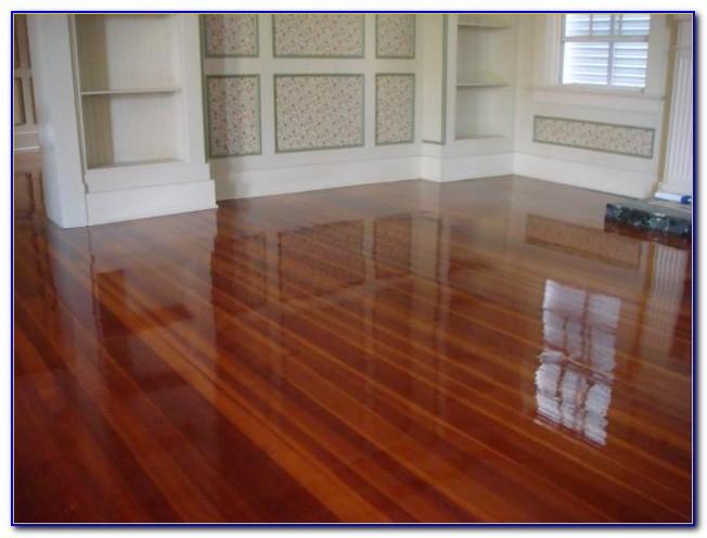 Paint Off Laminate Wood Floor