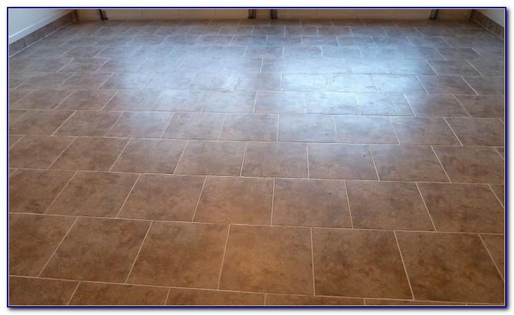 Porcelain Tile Garage Floor Installation