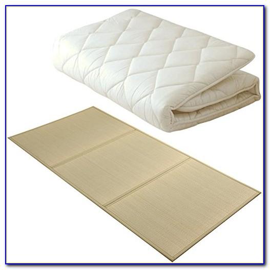 Queen Size Black Traditional Japanese Floor Futon Mattresses