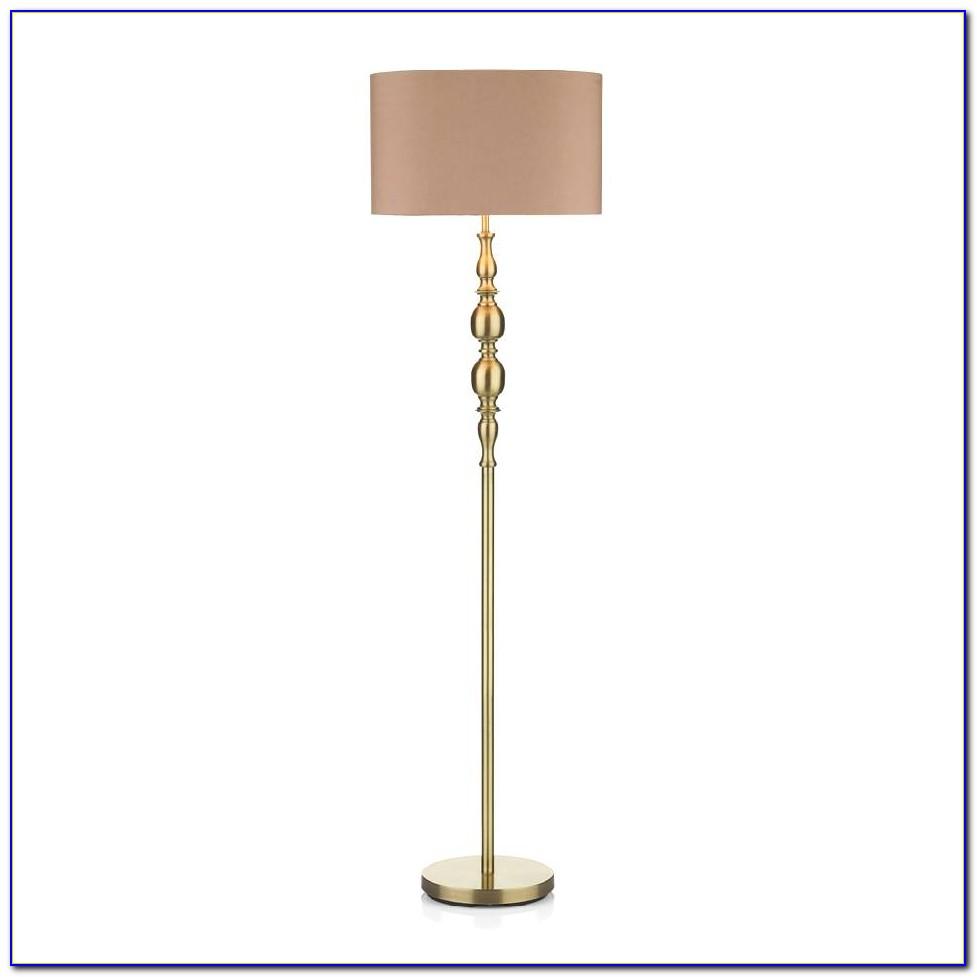 Ralph Lauren Brass Swing Arm Floor Lamp