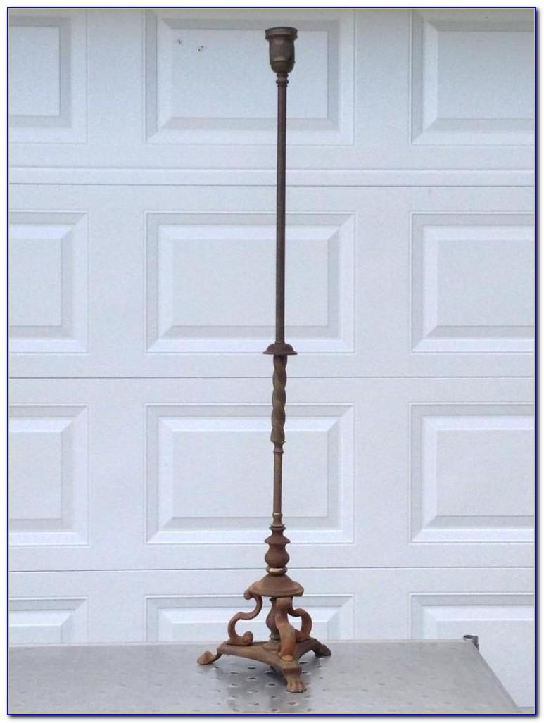 Restoring Cast Iron Floor Lamp