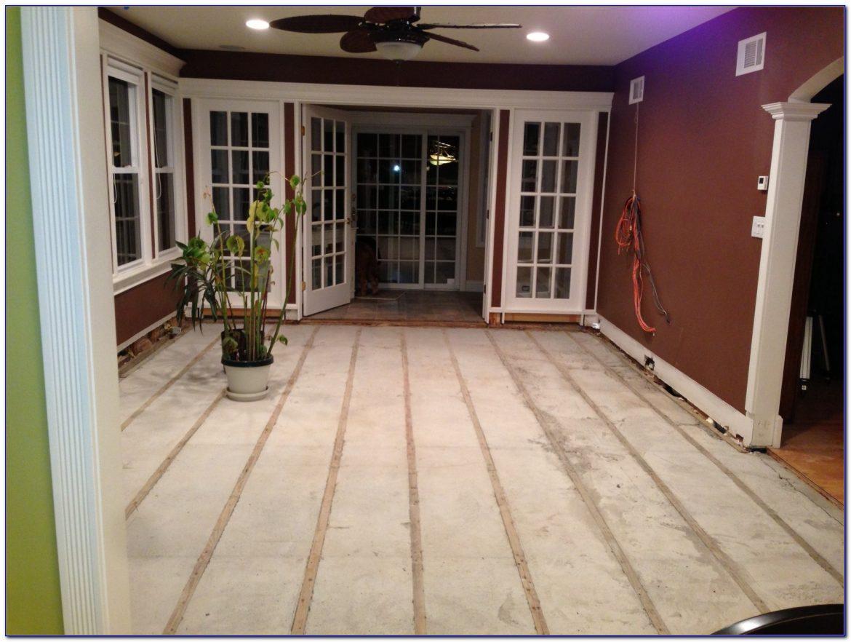 Retrofit Radiant Floor Heating On Concrete Slab