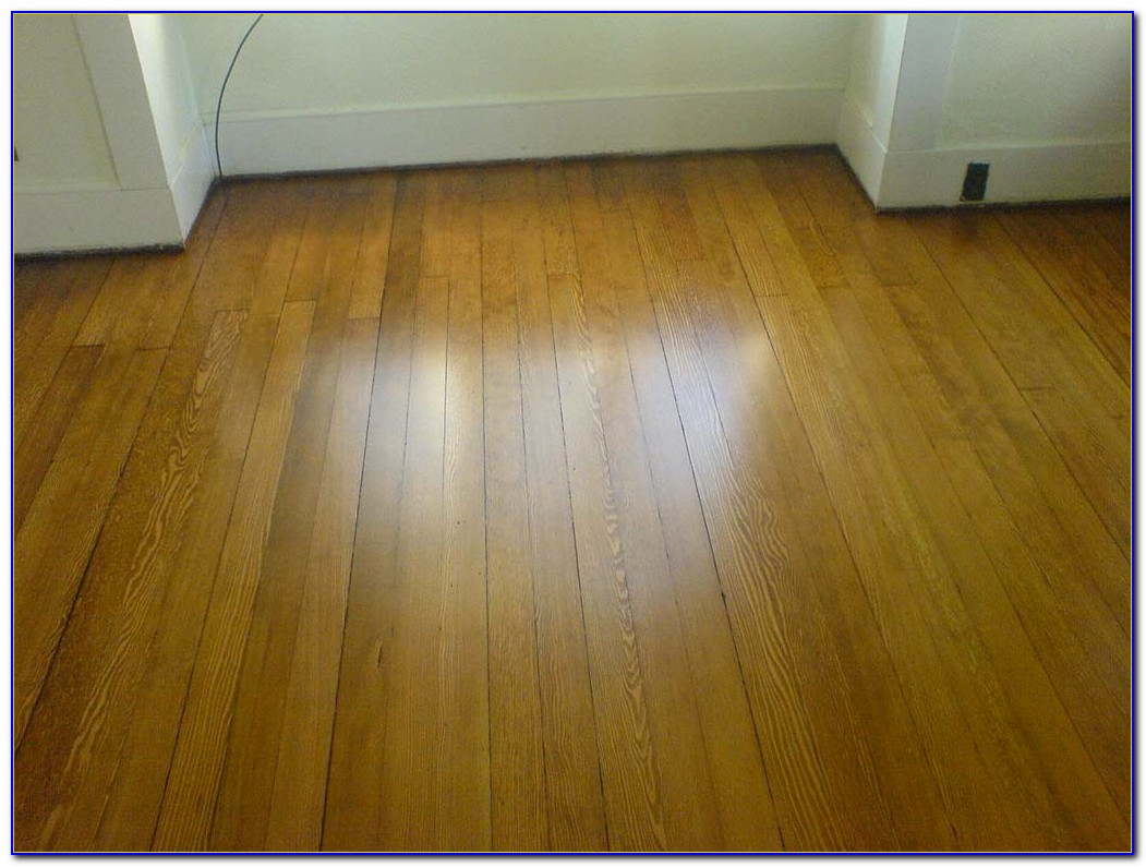 Sanding And Staining Pine Wood Floors