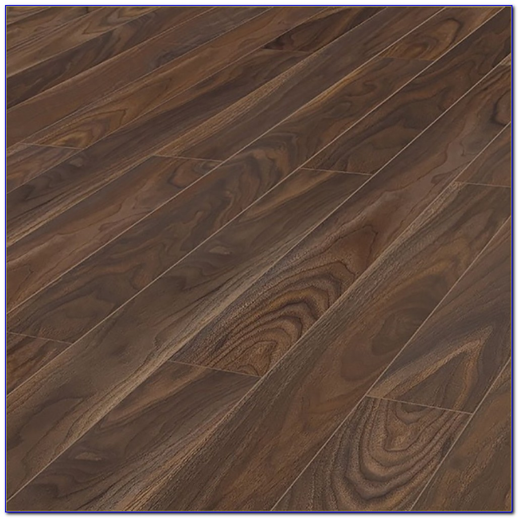 Scherzo Dark Walnut Laminate Flooring
