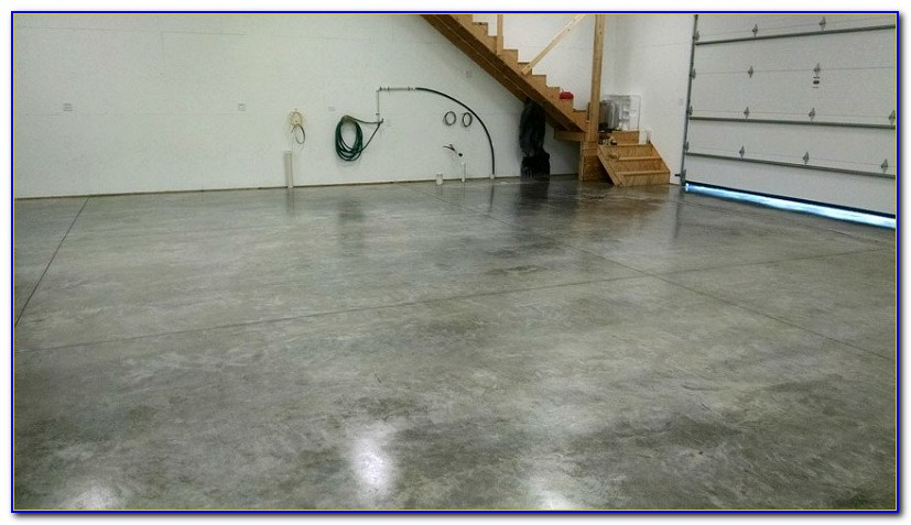 Sealing A Concrete Garage Floor With Pva