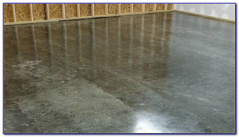 Sealing A Damp Garage Floor