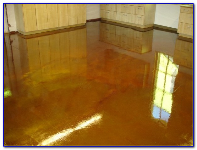 Sealing Stained Cement Floors