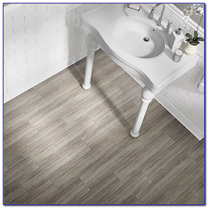 Self Stick Bathroom Floor Tiles