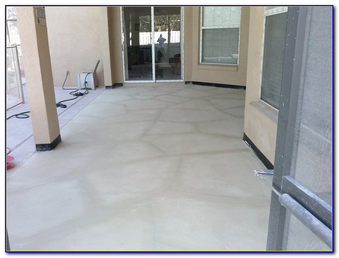Skim Coat Concrete Basement Floor