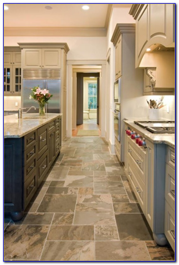 Slate Tile Flooring For Kitchen