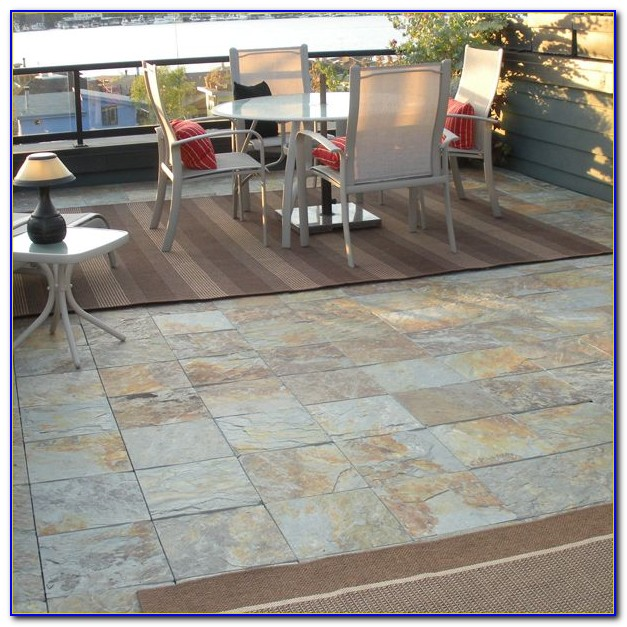 Snap Together Outdoor Flooring