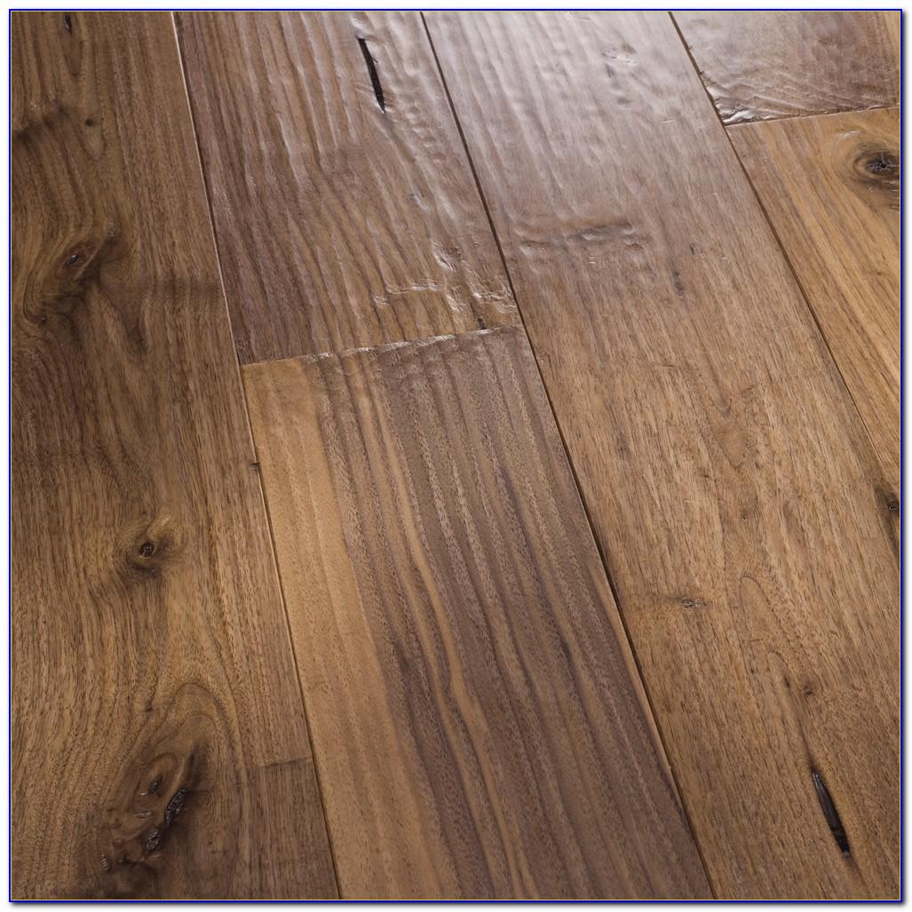 Solid Hardwood Hand Scraped Flooring