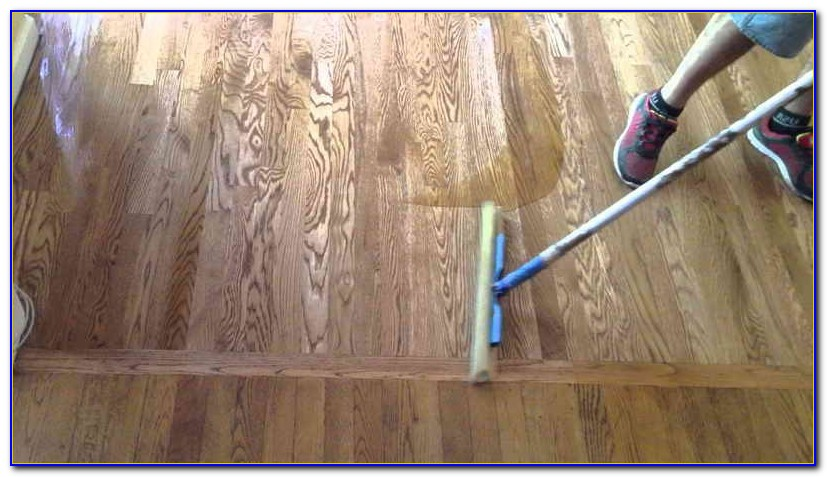 Staining Floors Darker Without Sanding