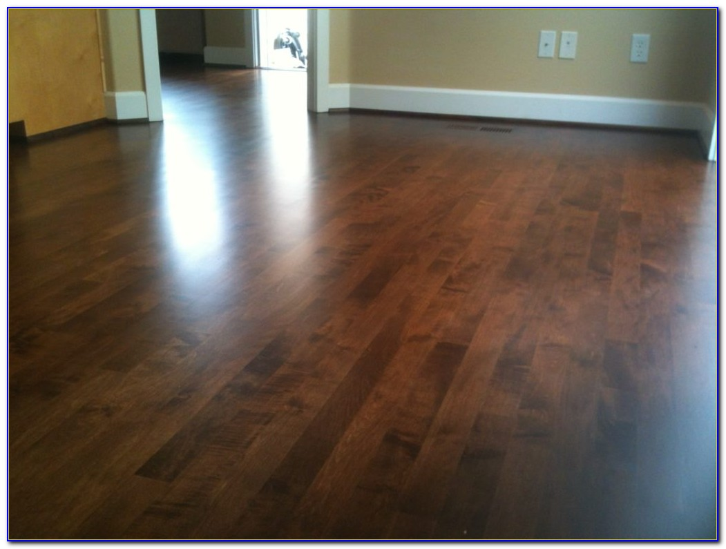 Staining Hardwood Floors Darker Without Sanding