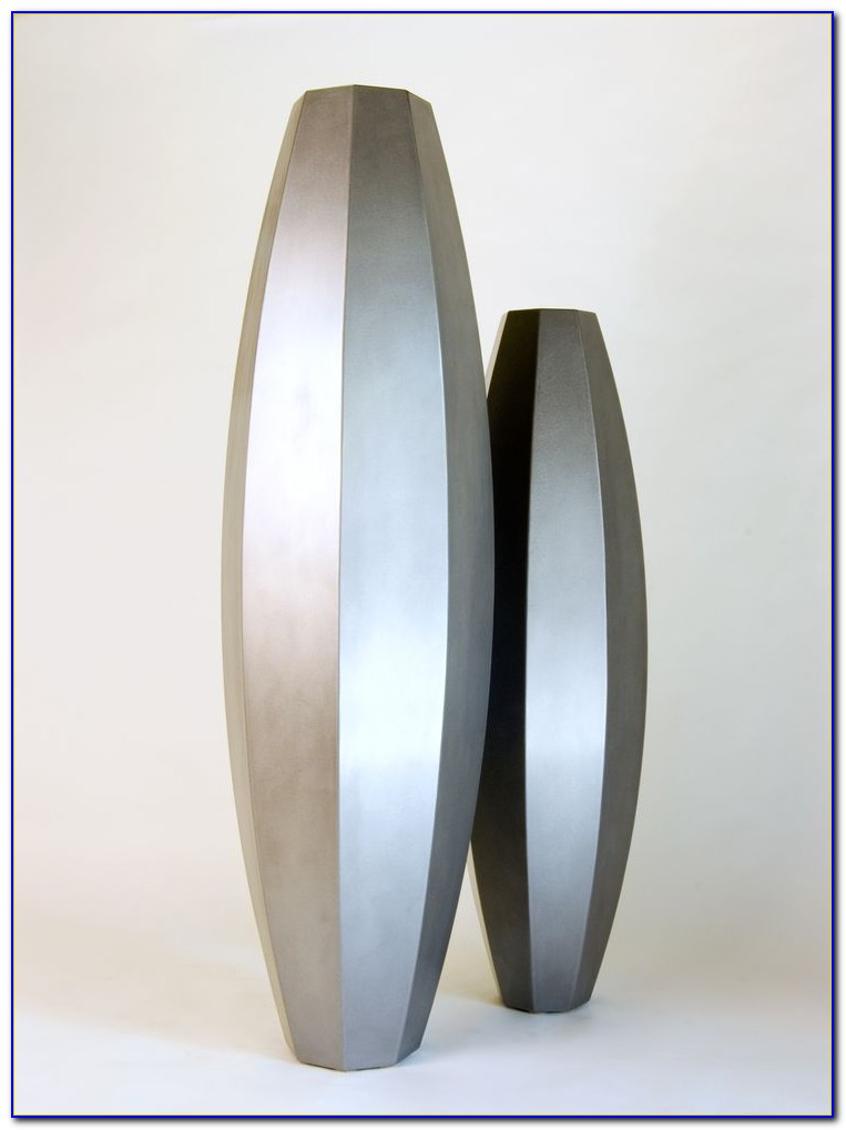 Tall Glass Decorative Vases