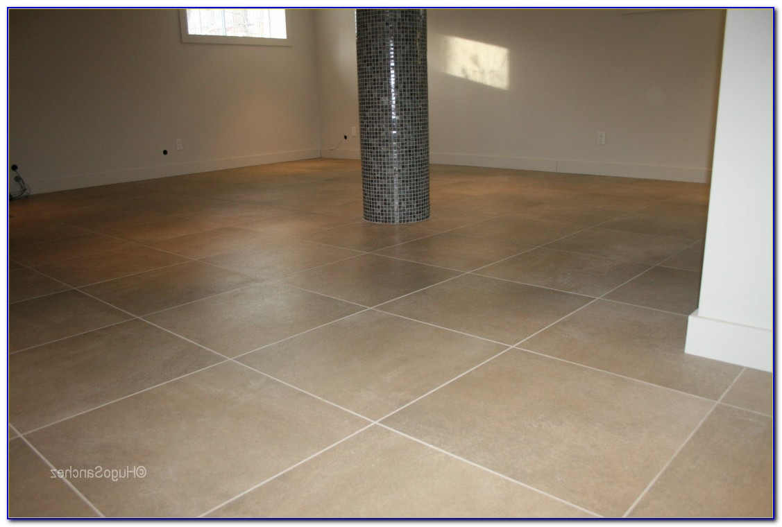Tiling A Basement Bathroom Floor