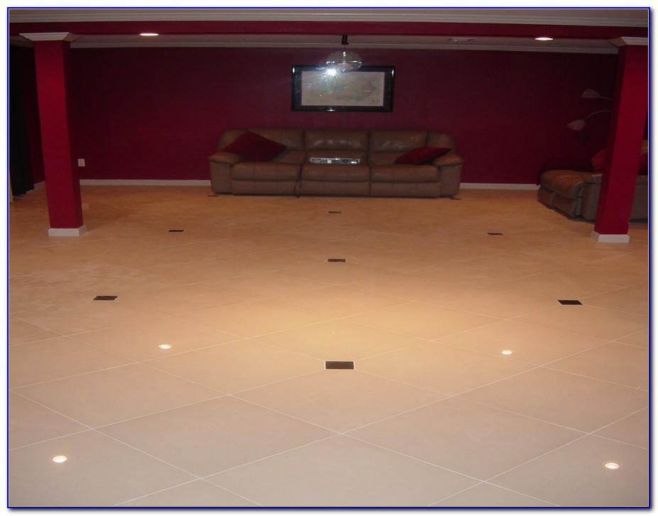 Tiling A Painted Basement Floor