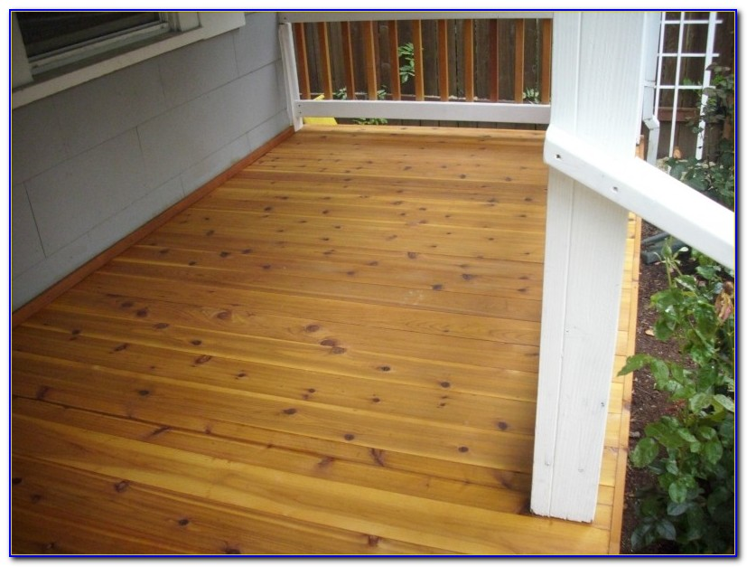 Tongue And Groove Wood Porch Decking