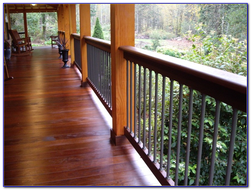 Tongue And Groove Wood Porch Flooring