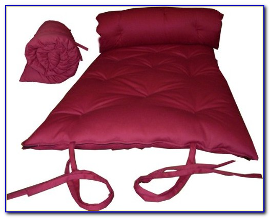 Traditional Japanese Floor Futon Mattresses Foldable Cushion Mats Yoga Meditation
