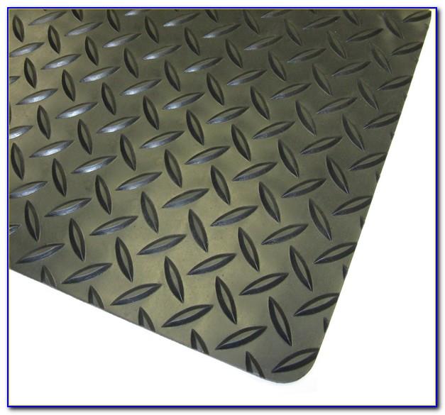Trafficmaster Allure Commercial Diamond Plate Graphite Vinyl Flooring