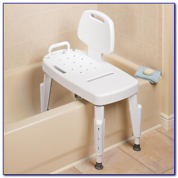Transfer Bench For Tub Or Toilet With Or Without Commode Opening