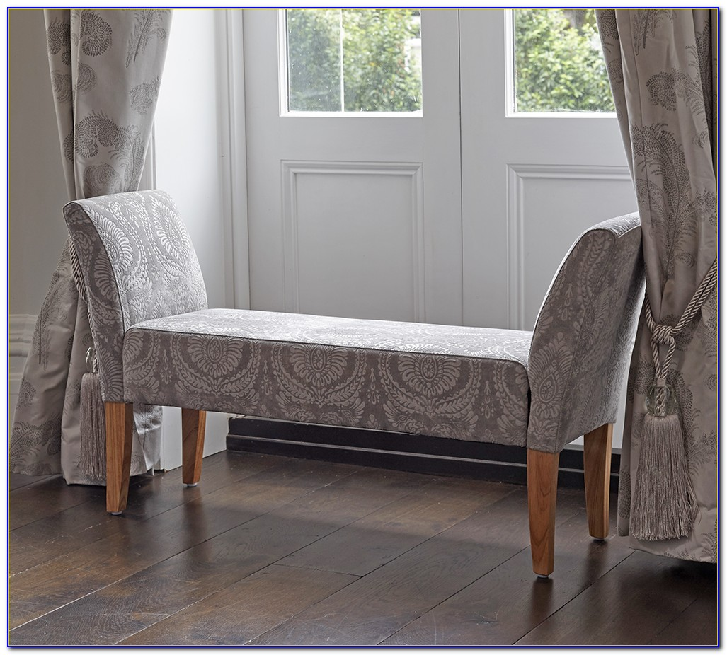 Upholstered Bench With Arms Uk