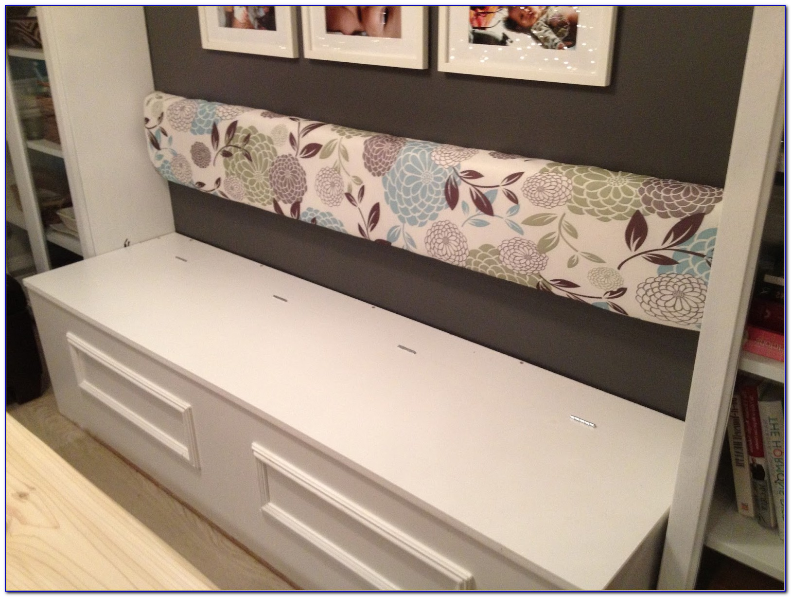 Upholstered Bench With Storage Diy