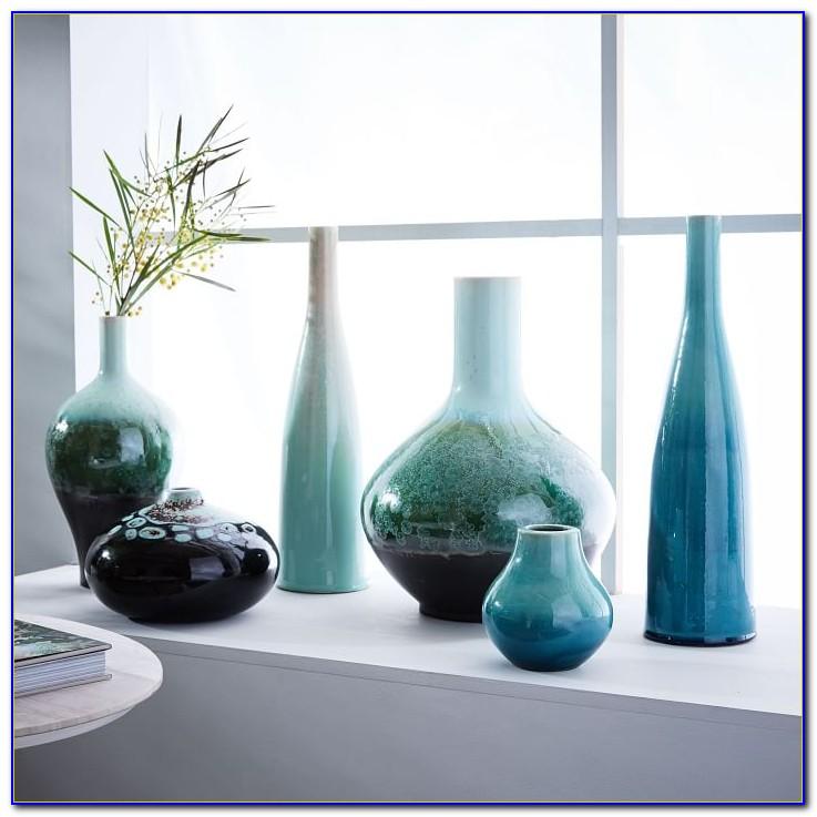 Very Tall Glass Floor Vases