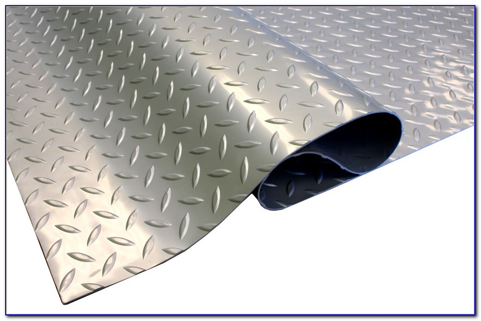 Vinyl Diamond Plate Garage Flooring