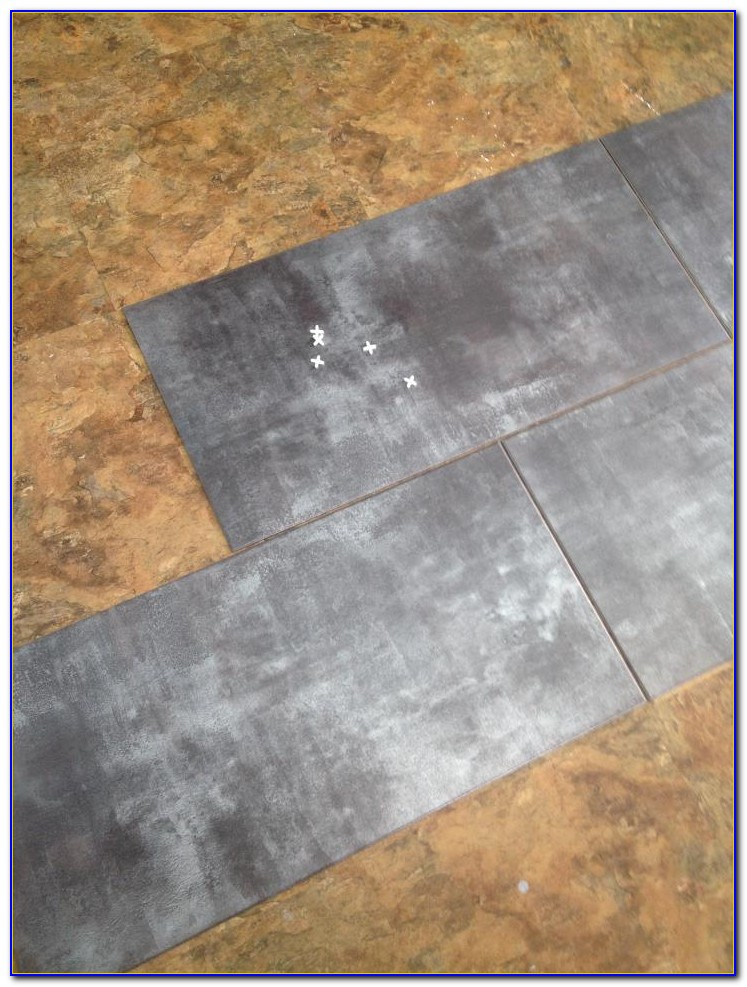 Vinyl Floor Tile With Grout Lines