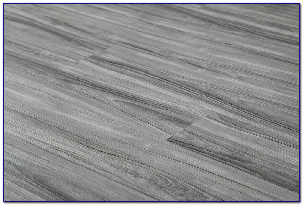 Vinyl Wood Plank Flooring Gray