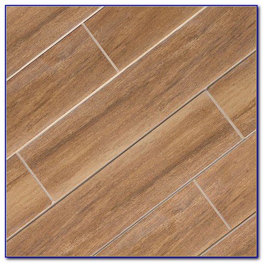 Wide Plank Ceramic Tile Flooring