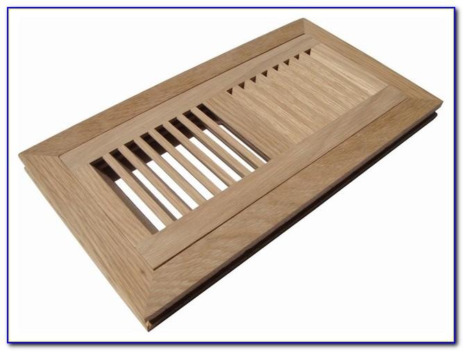 Wood Floor Registers Flush Mount