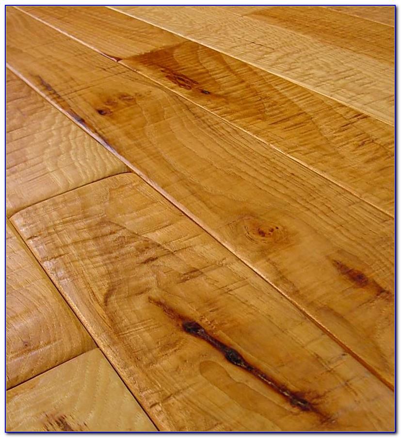 Wood Laminate Hand Scraped Flooring