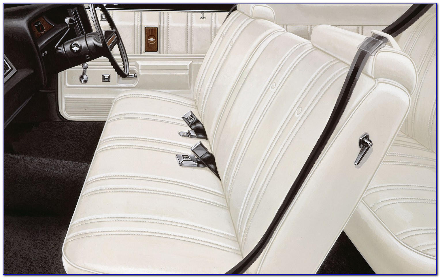 2013 Chevy Impala Bench Seat