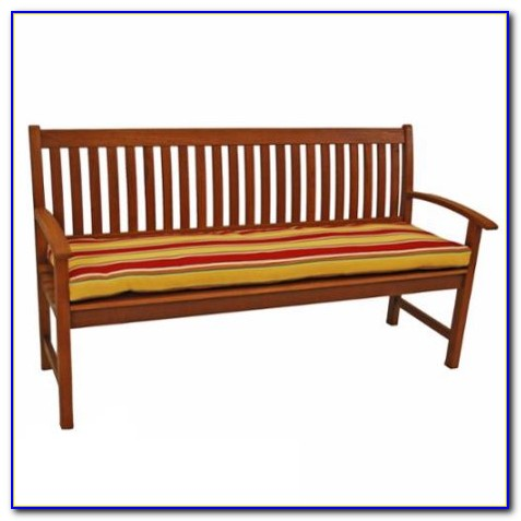 3 Seater Visitor Bench With Half Cushion