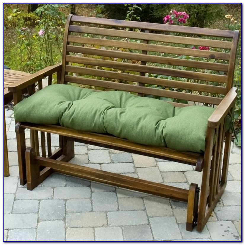 48 Inch Sunbrella Bench Cushion