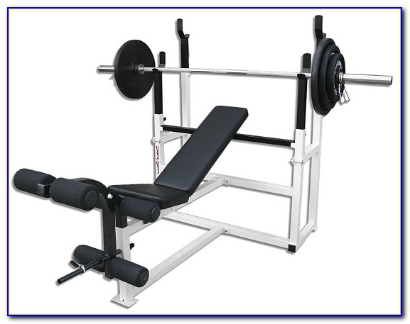 Adidas Olympic Weight Bench With Adjustable Squat Rack
